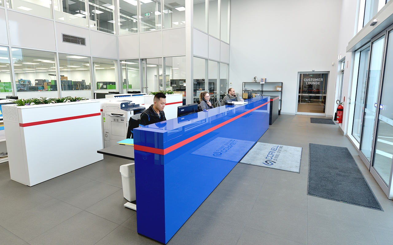 Cornell Diesel Systems Reception Desk
